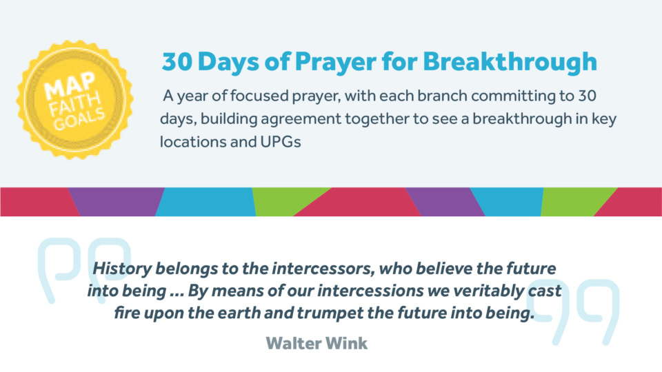 30 days of prayer for breakthrough 1